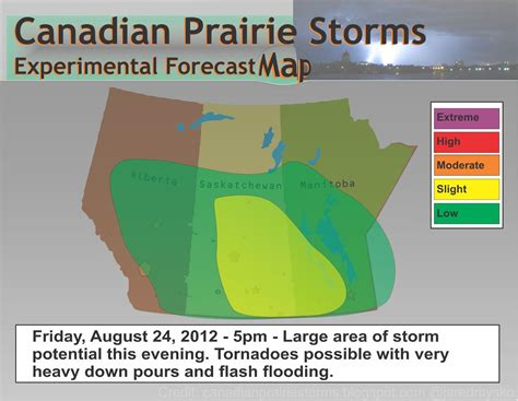 map of tornadoes today canadian prairie storms risk of tornadoes today map