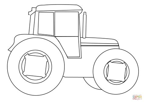 tractor template printable farm tractor coloring page free printable coloring pages