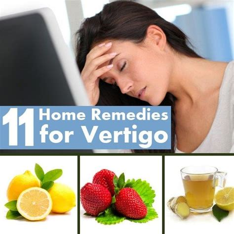 11 home remedies for vertigo home remedies
