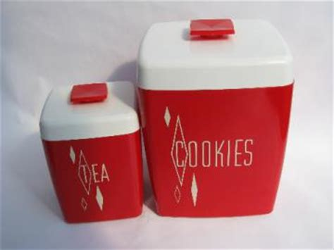 retro orange poppies kitchen canisters set and breadboard retro kitchen canisters