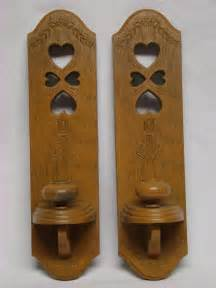 Ebay Home Interior vintage homco country hearts wall sconces candle holders