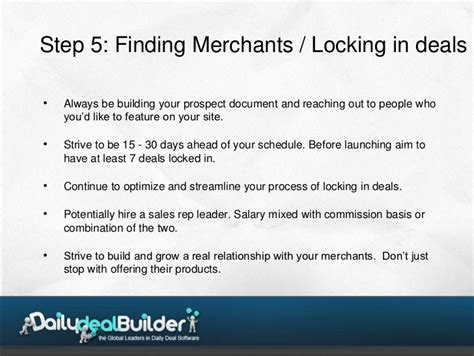 The Ultimate 6 Step Plan To Launching A Successful 8 step plan to launch a daily deal business