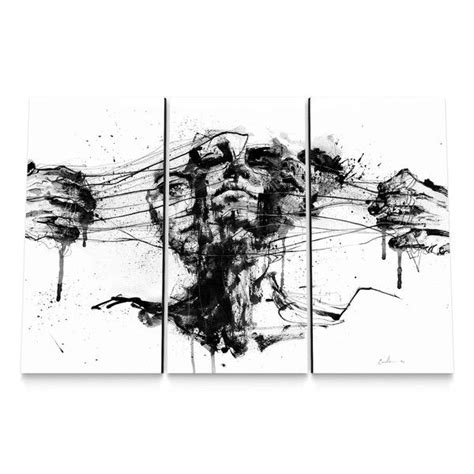 If Agnes Set drawing restraints canvas set by agnes cecile 299 99 http www eyesonwalls products