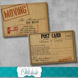 moving announcement change of address by oohlalaposhdesigns