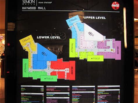 layout of haywood mall greenville sc sky city southern and mid atlantic retail history