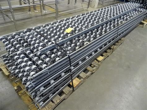 conveyor sections roller conveyor sections qty 17 k c auctions jb meats