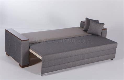futon nantes nantes seramo gray sofa bed by istikbal