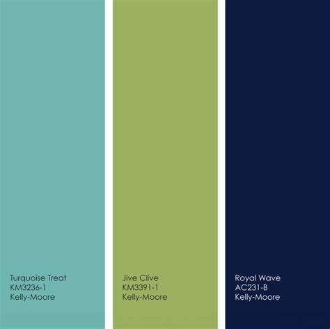 pretty turquoise lime navy palette colors of our bedrooms when i paint the last guest room