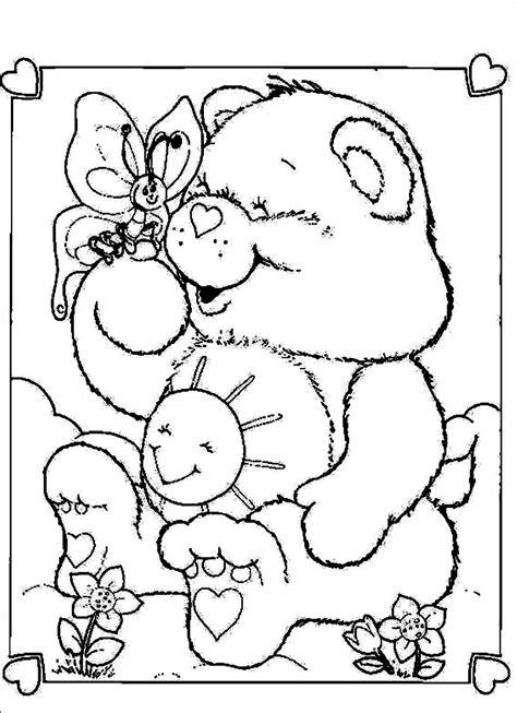 Care Bears Coloring Pages Only Coloring Pages Care Colouring Pages