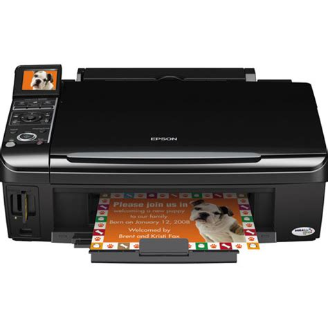 Printer Epson Stylus Nx130 All In One epson stylus nx400 all in one printer c11ca20201 b h photo