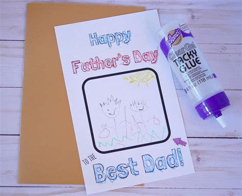 Diy S Day Card Template by Free Diy S Day Coloring Card Template
