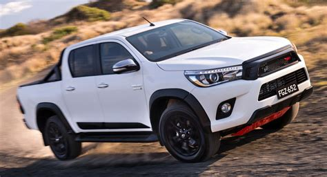 New Toyota Hilux 2017 Toyota Hilux Trd Pack Brings Enhanced Look For Australia