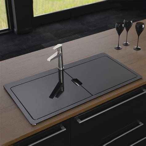 black sinks kitchen best of black stainless steel kitchen sink klp8868549139
