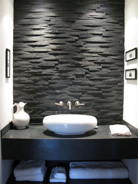 Wall Tiles For Bathrooms - the 25 best stone bathroom ideas on pinterest spa tub master bathroom tub and stone shower