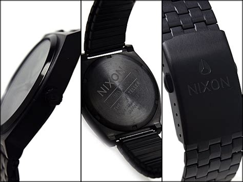 Nixon Gr 001 nixon 1 nixon time teller a045 001 all black