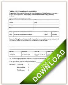 application for tuition reimbursement
