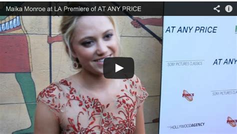 photo du film at any price photo 1 sur 14 allocin 233 maika monroe at la premiere of at any price film courage