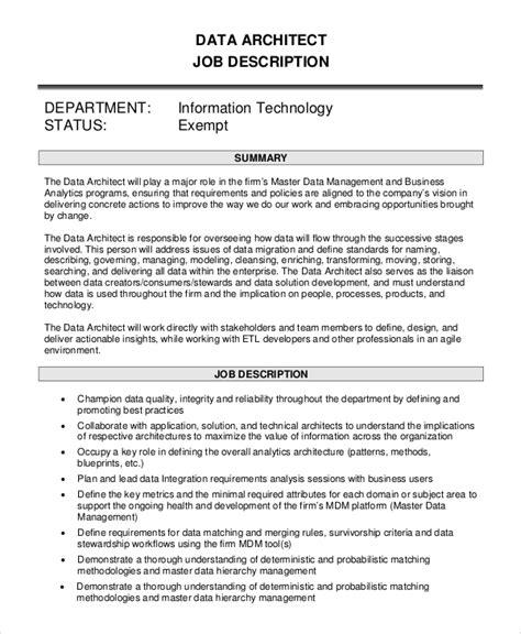 Architects Description landscape architect project coordinator description free pdf format ecommerce ui architect