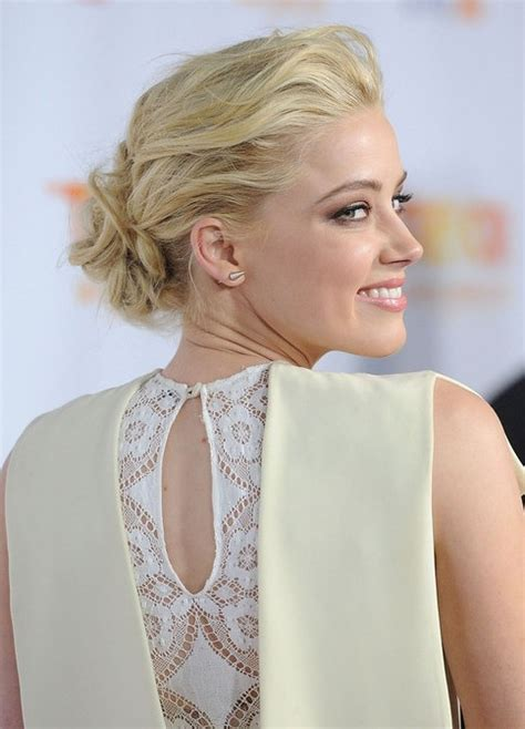 2013 low casual bun updo for prom prom hairstyles