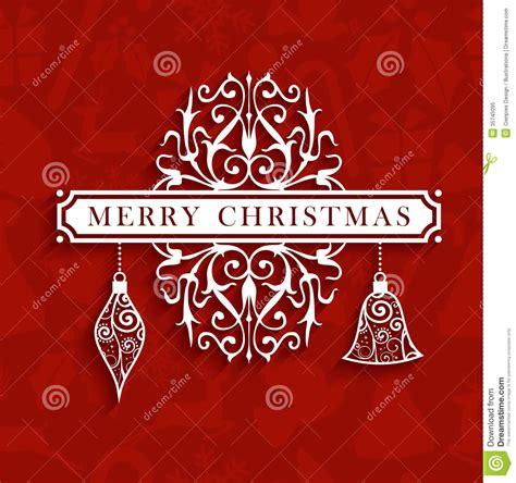 vintage christmas text greeting card royalty  stock photo image