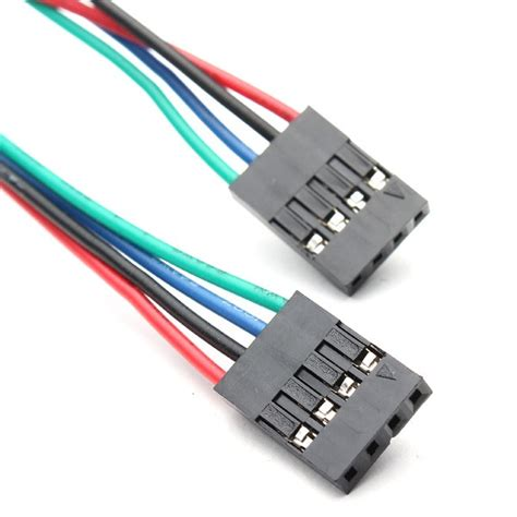 Kabel Jumper Dupont 10 Cm 20 Pin 4 pin dupont jumper kabel buchse buchse 70 cm roboter