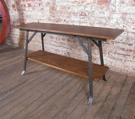 industrial modern sofa table vintage industrial by get