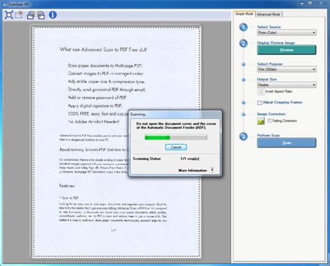 best way to scan documents to pdf advanced scan to pdf free 4 0 7