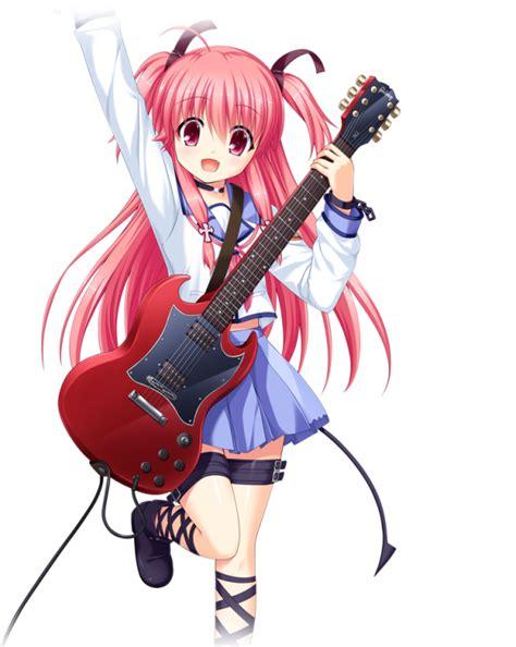 kisah anime guilty crown 10 karakter anime cewek tercantik berambut pink gwigwi