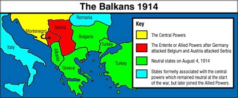 image gallery the balkans 1914