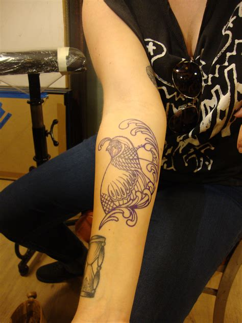 tattoo com quail tattoostation