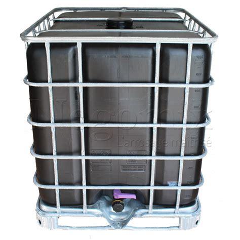 recuperateur eau de pluie 1000 litres 2384 cuve de 1000 litres avec palette pour r 233 cup 233 rer l eau de pluie