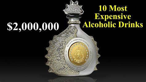 top 10 most popular bar drinks 10 most expensive drinks in the world youtube