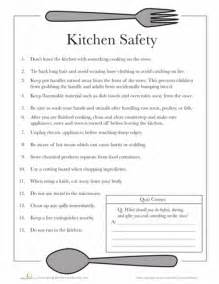 Kitchen Measuring Lesson Plans Kitchen Safety Worksheets Safety And Free Printable