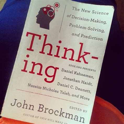 libro thinking from a to libros thinking de john brockman el124