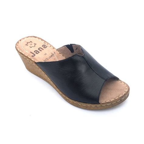 slippers shop buy sandals stylish black color leather slip on
