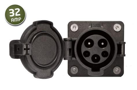 J1772 32A Socket / Inlet J1772