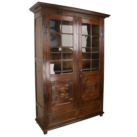 oak bookcases for sale antique fruitwood and oak bookcase original glass for