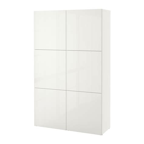 besta eckschrank best 197 storage combination with doors white selsviken high