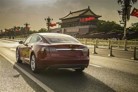 Tesla China Factory Tesla Fan Builds Crowdsourced Charging Network Gas 2