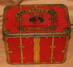 the from the tin cabin books antique macfarlane lang quot cabin trunk quot biscuits tin