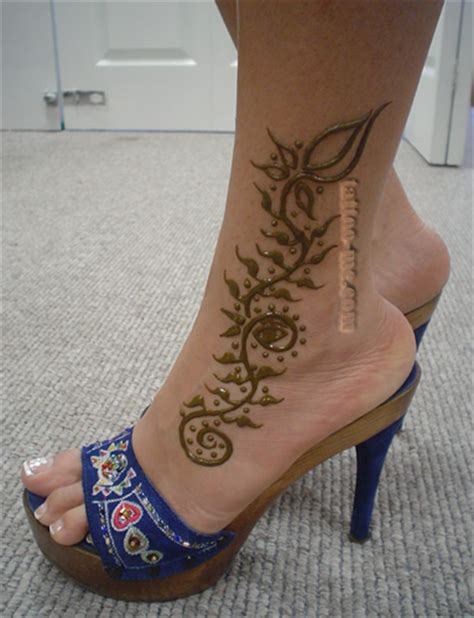 henna tattoo designs for ankles ankle henna