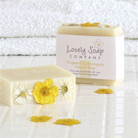 Nature Soap grapefruit lemongrass handmade soap by lovely