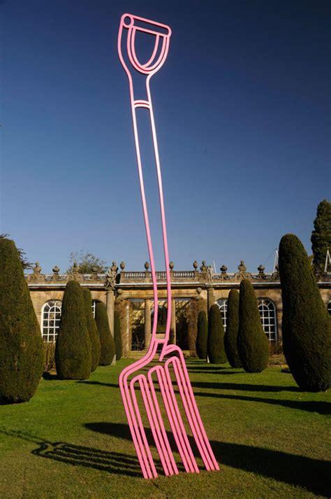 Garden Metal Art Sculptures - michael craig martin studio international