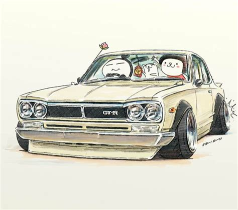 stanced cars drawing car illustration crazy cars and jdm on pinterest