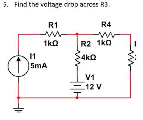 find the current and voltage across each resistor find the current and voltage drop across each resistor 28 images circuit symbols battery