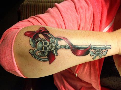skeleton key tattoo new information on the integumentary ornamentation of
