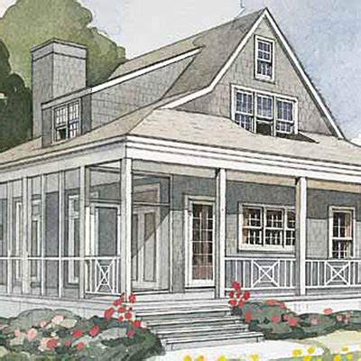 nautical cottage top 25 house plans coastal living