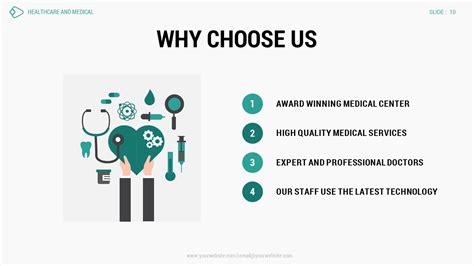 Healthcare And Medical Powerpoint Presentation Template By Spriteit Healthcare Presentation Templates