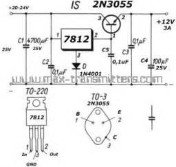 2n3055 alimentatore schema alimentatore con lm317 e 2n3055 fare di una mosca
