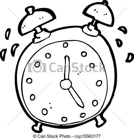 imagenes para colorear reloj ilustraciones vectoriales de resonante alarma reloj